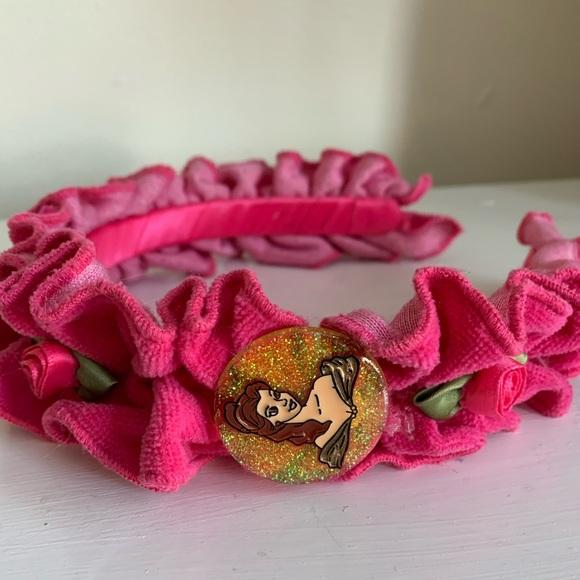 Disney Store Princess Belle Crown Tiara Costume Headband Beauty /& the Beast NWT